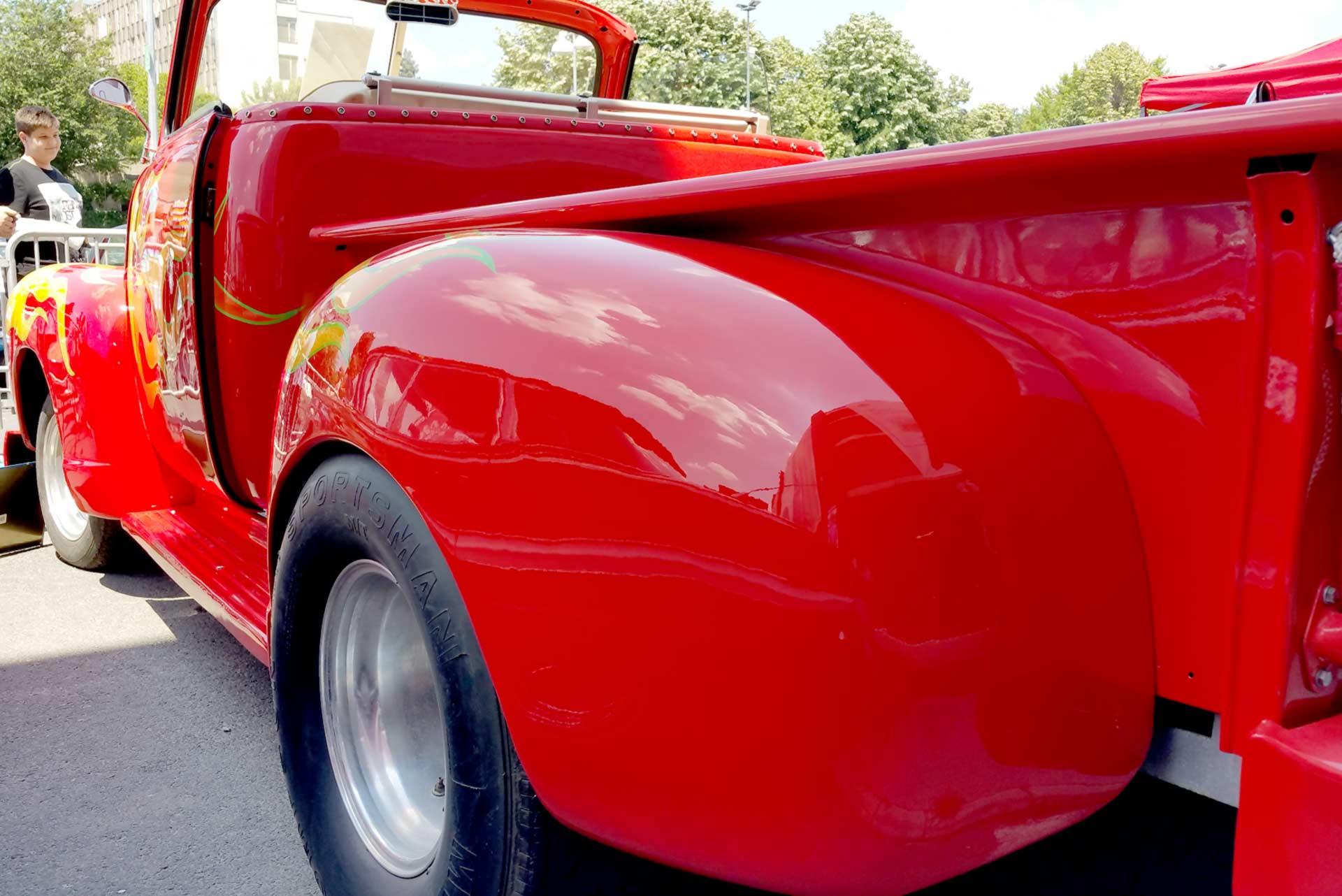 Camionetă Chevrolet HotRoad, 1953