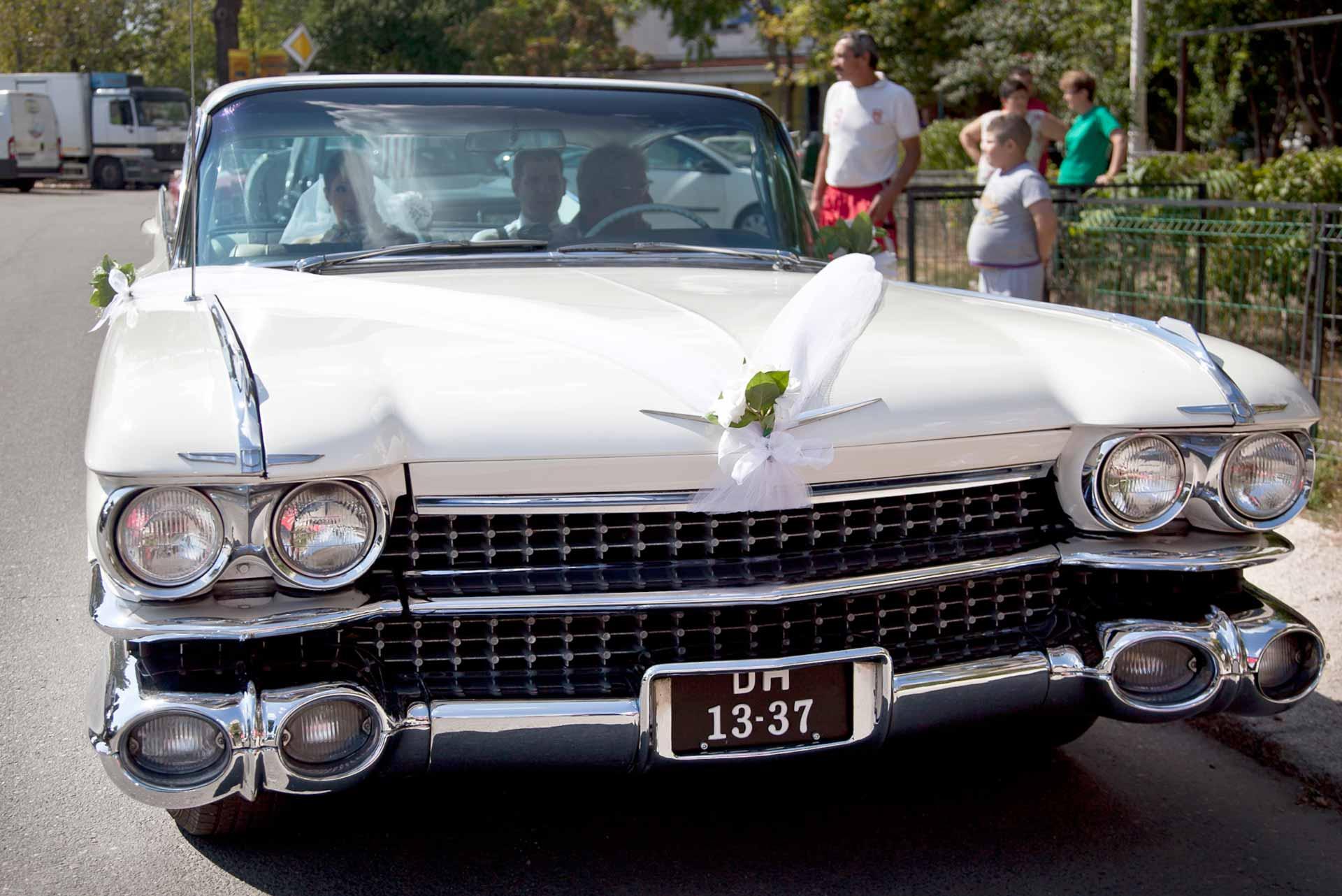 Mașină de epocă Cadillac DeVille, 1959