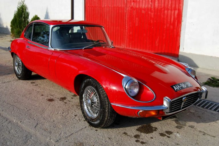 Masina de epoca Jaguar E-Type, 1972
