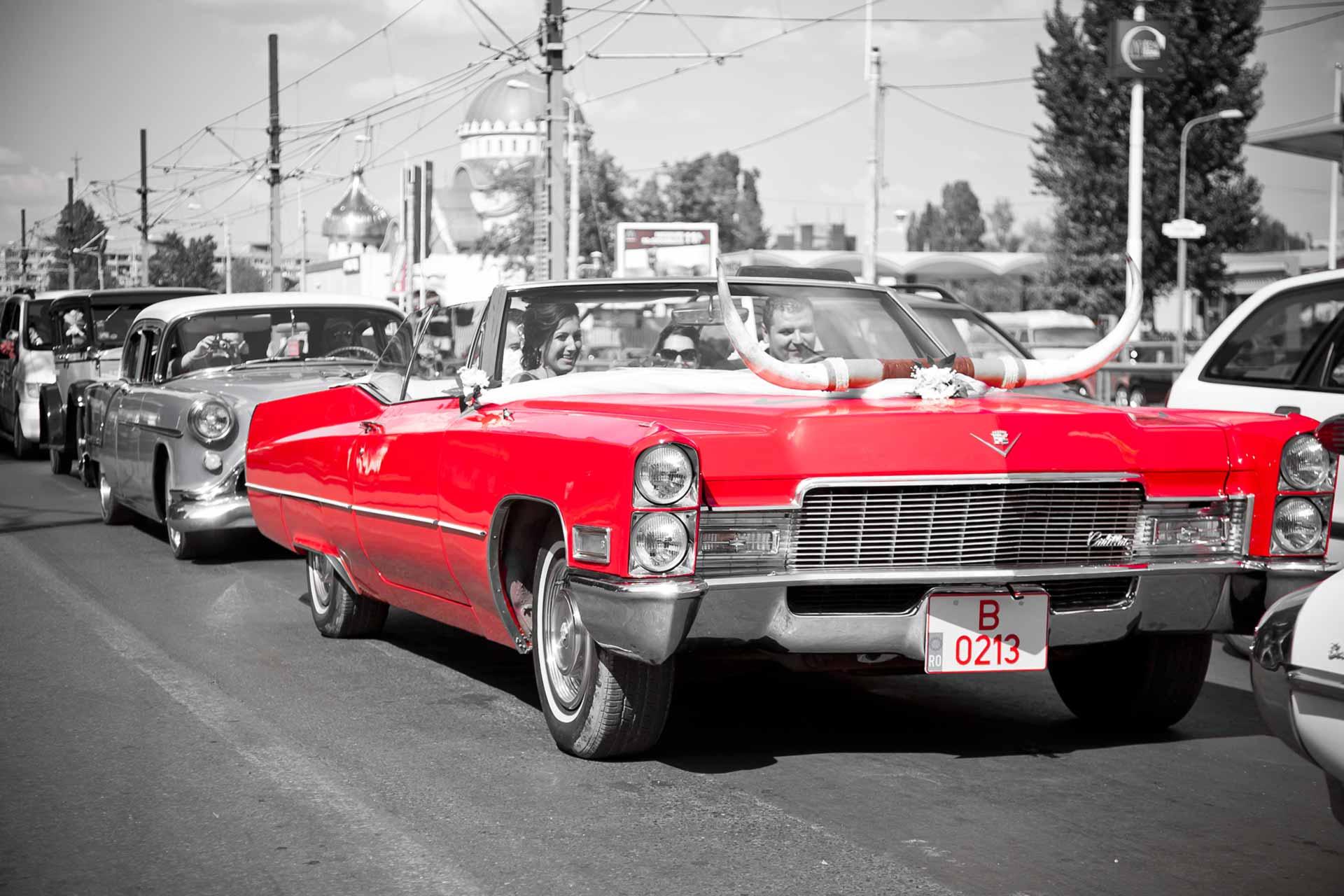 Masina de epoca Cadillac DeVille