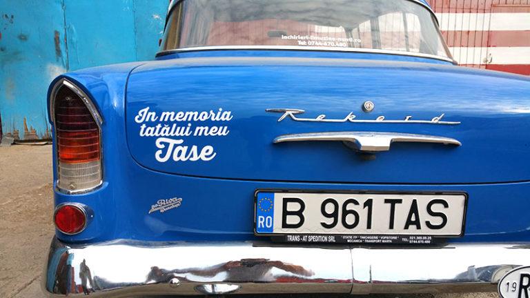 Opel Rekord Olimpia P1 Masina de epoca din 1960