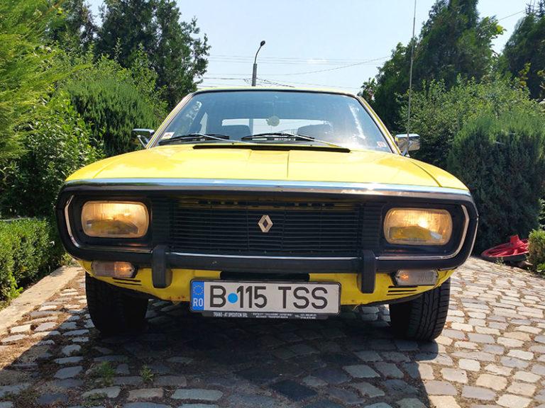 Renault 15 TS – Masina de epoca din 1974