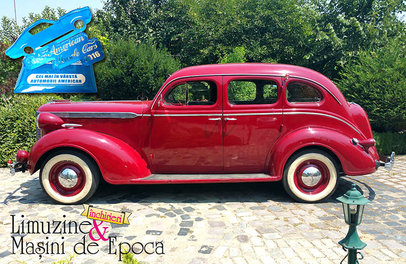 Chrysler Royal – masina de epoca din 1937